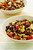 Bowl of Southwestern Black Bean Salad