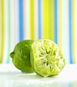 A squeezed out lime