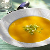 Bowl of Creamy Carrot Parsnip Soup