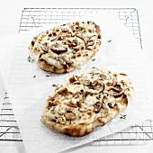 Individual Wild Mushroom Pizzas