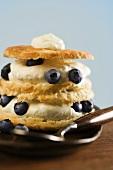 Blueberry and Cream Shortcake