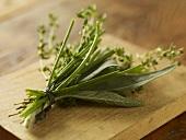 Bouquet Garni; Fresh Herb Bundle; Sage, Chived and Thyme