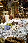 Turkish Delight Stall; Istanbul, Turkey