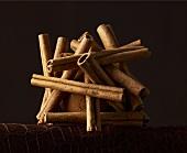Stacked Cinnamon Sticks