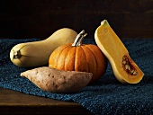 Autumn Ingredients; Squash, Pumpkin and Sweet Potatoes