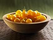 Yellow Heirloom Teardrop Tomatoes