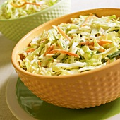 Two Bowls of Cole Slaw
