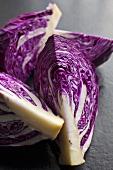 Fresh Purple Cabbage Wedges