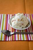 Marmamade iced yoghurt