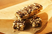 Oat and Rice Chocolate Chip Bars in Paper