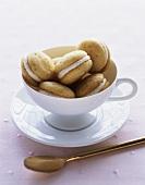 Mini Vanilla Whoopie Pies
