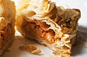 Curried Mutton Turnover; Halved