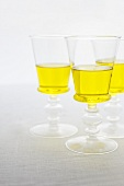 Three Glasses of Dandelion Wine