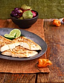 Halibut Fillets with Fresh Southwestern Ingredients
