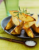 Oven Roasted Potato Wedges with Rosemary and Sea Salt