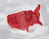 USA-förmiges Steak