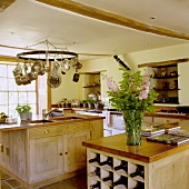 A rustic country house kitchen