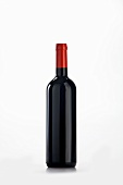 A bottle of red wine
