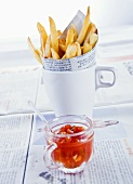 Chips and tomato sauce (China)