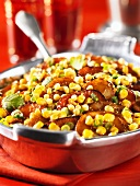 Potato and sweetcorn stew