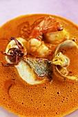 Zuppa di pesce alla veneziana (Italian fish soup)