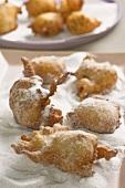 Fritole veneziane (yeast doughnuts, Italy)