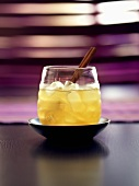 Cinnamon Quill (whisky with apple juice, honey and cinnamon)