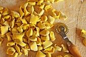 Agnolotti (stuffed ravioli, Italy)