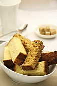Buttermilk and muesli rusks (South African biscuits)