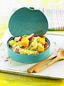 Tinned vegetable salad (Spain)