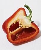 Half a red pepper
