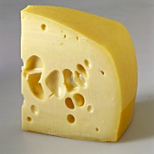 A piece of Westberg cheese