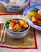 Fried sweet and sour pork