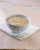 A cup of café au lait