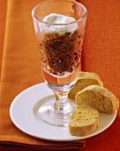 Granita di caffè e cantucci (Coffee sorbet & cantuccini)