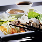 Shabu shabu (fondue, Japan)