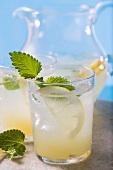Lemonade with lemon balm