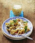 Manti (pasta parcels with yoghurt sauce; Turkey)