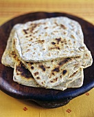 Indian flatbread with caraway
