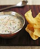 Indian yoghurt soup
