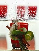 Home Infused Vodka (Aromagewürze in Wodka ansetzen)