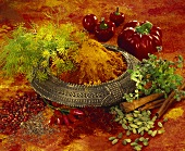 Still life with spices