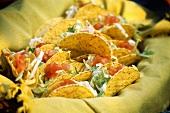 Filled taco shells
