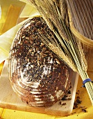 Brown bread with mixed seeds