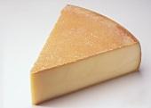 Organic Bergkäse cheese (Tyrol, Austria)