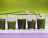 Herb sauces