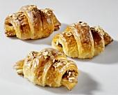 Three nut croissants