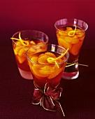 Champagnergelee mit Orangen