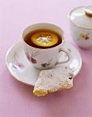 Zaleti e una tazza di tè (Cookies & a cup of tea, Italy)