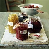 Home-made jams